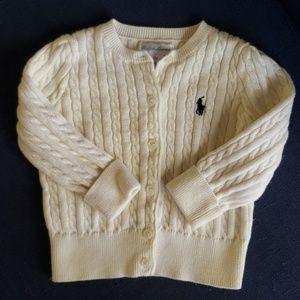 Ralph Lauren baby girls 12 month sweater